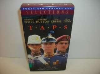 1981] (Tom Cruise/George C. Scott) VHS miltary Movie Rare OOP