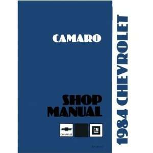 1984 CHEVROLET CAMARO Shop Service Repair Manual Book Automotive