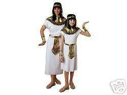 Cleopatra Pharoah Queen Deluxe Costume Dress NIP 12 14