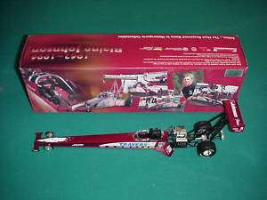 Action 1/24 1996 Blaine Johnson Travers dragster
