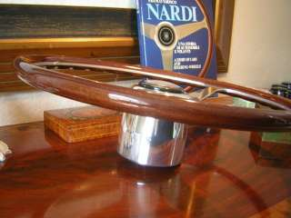Shelby 1966 GT350 Nardi Wood Steering Wheel NOS NEW 15