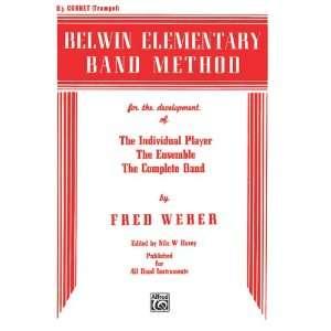 Belwin Elementary Band Method Book Trumpet