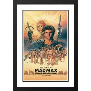 Mad Max Beyond Thunderdome 32x45 Framed and Double Matted Movie Poster