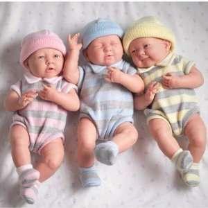 Dolls By Berenguer #18530 La Newborn Real Boy Blue Hat