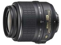 Nikon AF S 18 55mm f/3.5 5.6G VR DX NIKKOR Lens New 018208021703