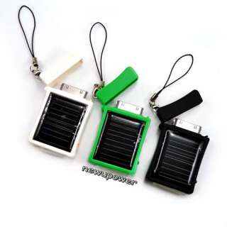 New Solar Power Charger For i Pod Touch i Phone 4 3 G 3GS