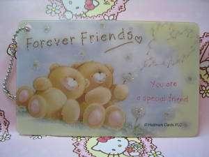 Hallmark Forever Friends Bear Gift Message Cards #07