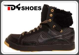 Nike Wmns Air Troupe II MID AP Black Gold Womens Furs Dance Shoes