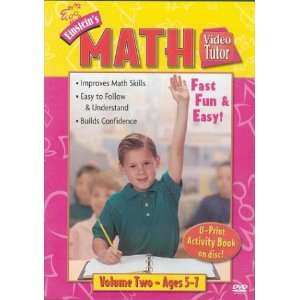 com Math Video Tutor DVD 2 (Video Tutor) (9781591253143) DVD Books