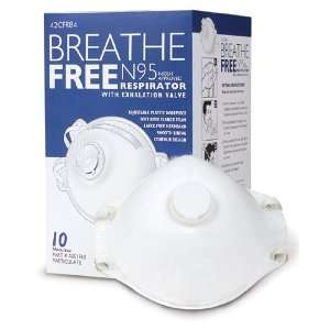 Respirator Medical Face Mask with Exhalation Valve N95    Set of 10
