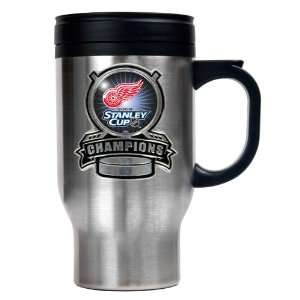 Detroit Red Wings NHL 2008 Stanley Cup Champs Stainless