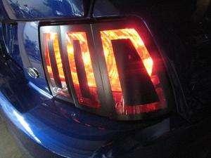 Tail Light Accents 99 04 Mustang/Cobra/Saleen 0010203