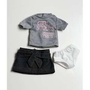 Girl Scout 1912 Tshirt/Skirt & Underwear Set Toys & Games
