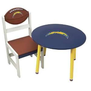 Scottish Christmas San Diego Chargers NFL Childrens Wooden