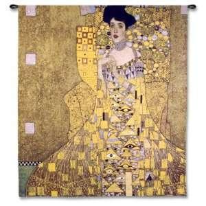 Adele Bloch Bauer I by Gustav Klimt, 52x53