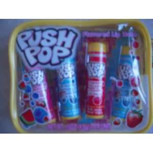 Pop Flavored Lip Balm (Zip case of 4 Flavors): Health & Personal Care
