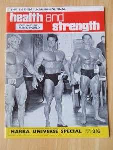STRENGTH muscle magazine/ARNOLD SCHWARZENEGGER/Dave Draper/Park 12 70