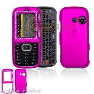 LG Rumor2 LX 265 UX 265 Hot Pink Diamond Protector Case