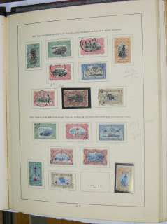 Collection stamps of Belgian Congo 1888 1961.