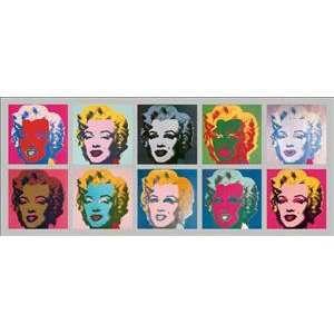Andy Warhol 52.7W by 22H  Marilyn Monroe   1967