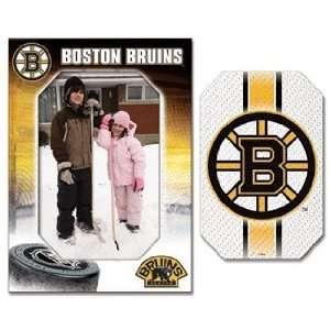 NHL Boston Bruins Magnet   Die Cut Vertical