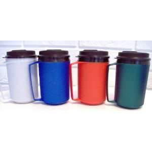 12 Oz Foam Insulated Thermoserv Travel Coffee Mug Sports