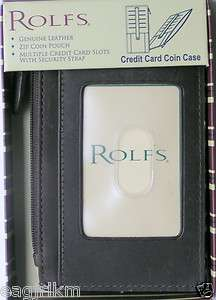 Rolfs Credit Card Coin Case Wallet