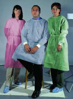 CASE 50 Patient Latex Free Medical Isolation Gowns