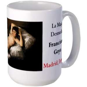 Maja Desnuda Spain Large Mug by CafePress: Everything Else