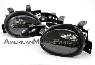 Depo Pair o Style Black Headlights W/o Turn Signal 95 99 Dodge