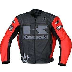Joe Rocket Kawasaki Heavy Leather Jacket   5X Large/Black