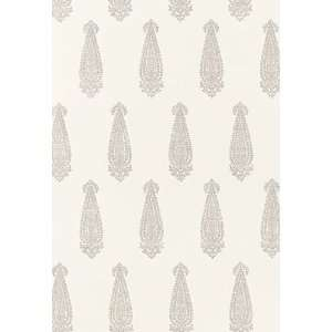 Katara Paisley Oyster by F Schumacher Wallpaper: Home