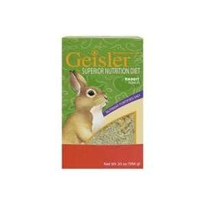 Superior Nutrition Rabbit Diet Food, 20oz Pet Supplies