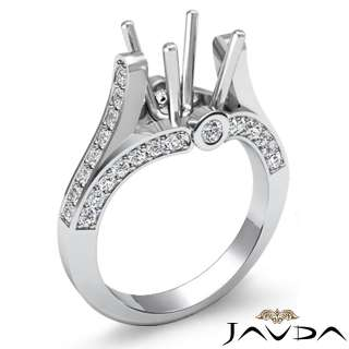 6ct Diamond Wedding Ring Round Setting Platinum s4.5 Engagement