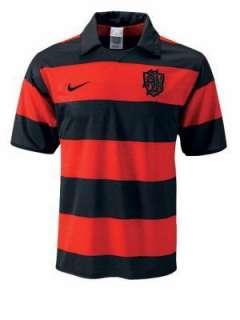 Nike SB Red Black Soccer Jersey Dri Fit T shirt dunk fc