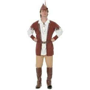 Robin Hood Complete Fancy Dress Costume 5 PC   One Size