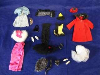VINTAGE LOT 60s MATTEL BARBIE DOLL CLOTHES SKIPPER TAMMY PETEENA