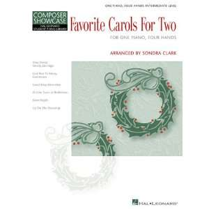 Favorite Carols for Two: Hal Leonard Student Piano Library