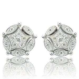 Effy Jewelers DiVersa® 14k White Gold Diamond Changeable Earrings (0