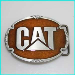 CAT Diesel Power Enameled Belt Buckle AT 063YE Everything
