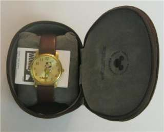 NEW DISNEY WORLD TIMEWORKS MICKEY MOUSE WATCH NIB RARE