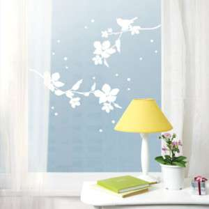 Flower Tree Wall Decor Sticker Removable Graphic Decal