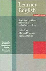 Learner English Audio Cassette A Teachers Guide to Interference and