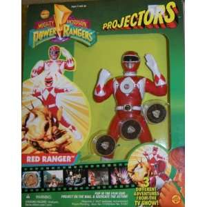 Power Rangers Projectors Red Ranger Toys & Games