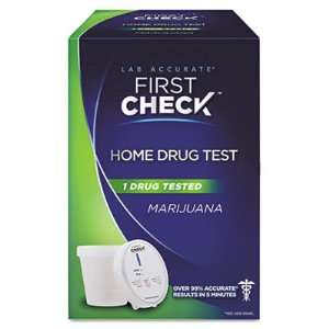 First Check Marijuana Drug Test Kit FCD06155 Health