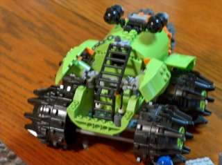 Lego Power Miner 8960 Thunder Driller with Minifigs Instructions
