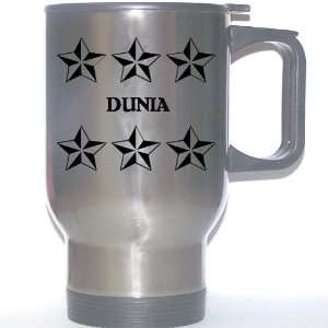 Personal Name Gift   DUNIA Stainless Steel Mug (black