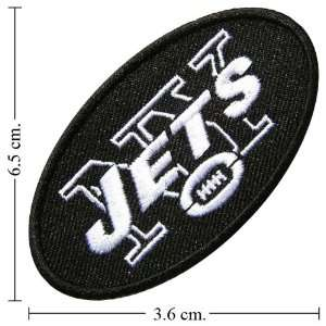 New York Jets Patch Football Logo Iron on Patch From