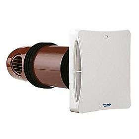 Extractor Fans   Bathroom  Vent Axia LoWatt HR25 Solo Plus