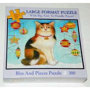 SNOW CAT   300 Piece (Large Format) Jigsaw Puzzle